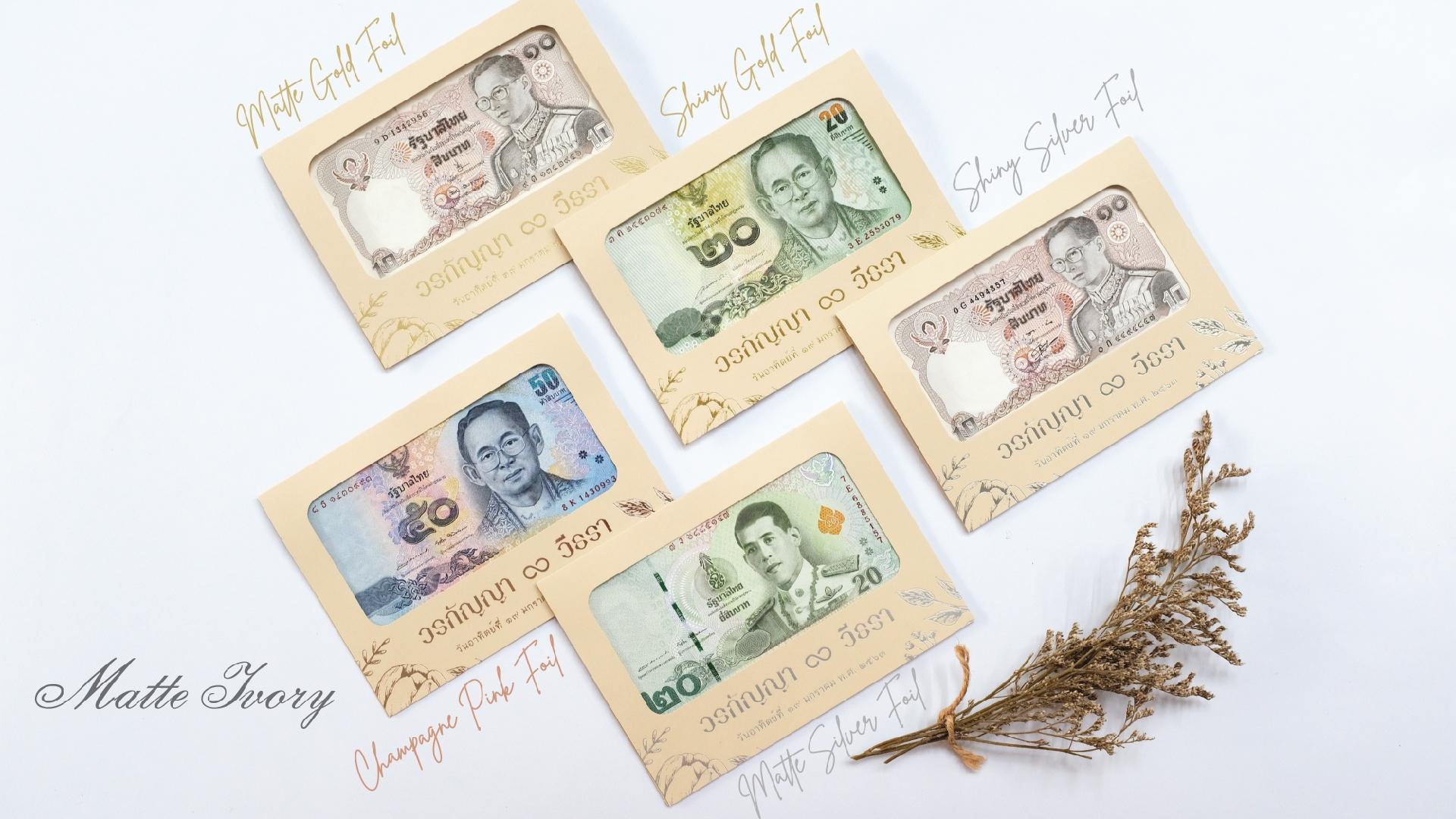 Premium banknote case